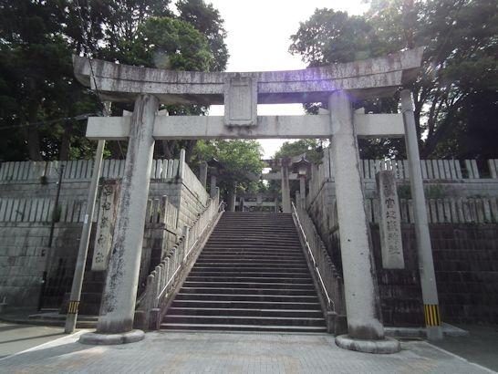 宮地嶽神社の入口
