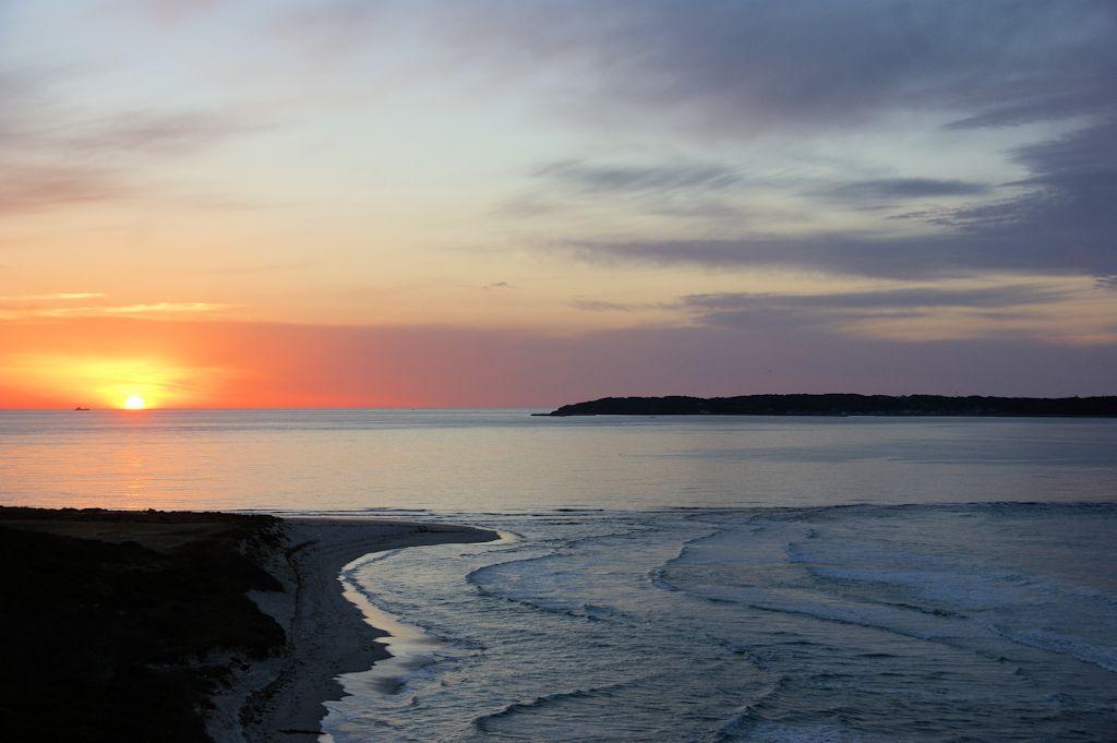 角島の夕陽