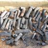 木炭作りはさらに続くばい♪