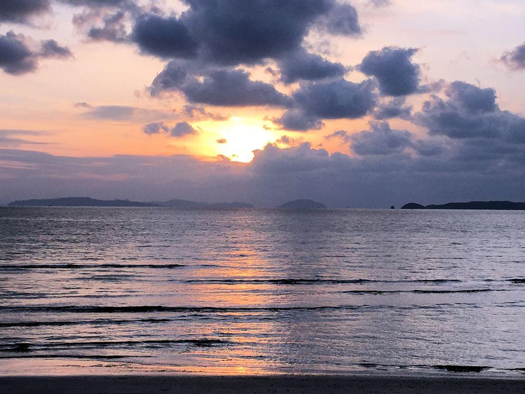 福津の夕陽