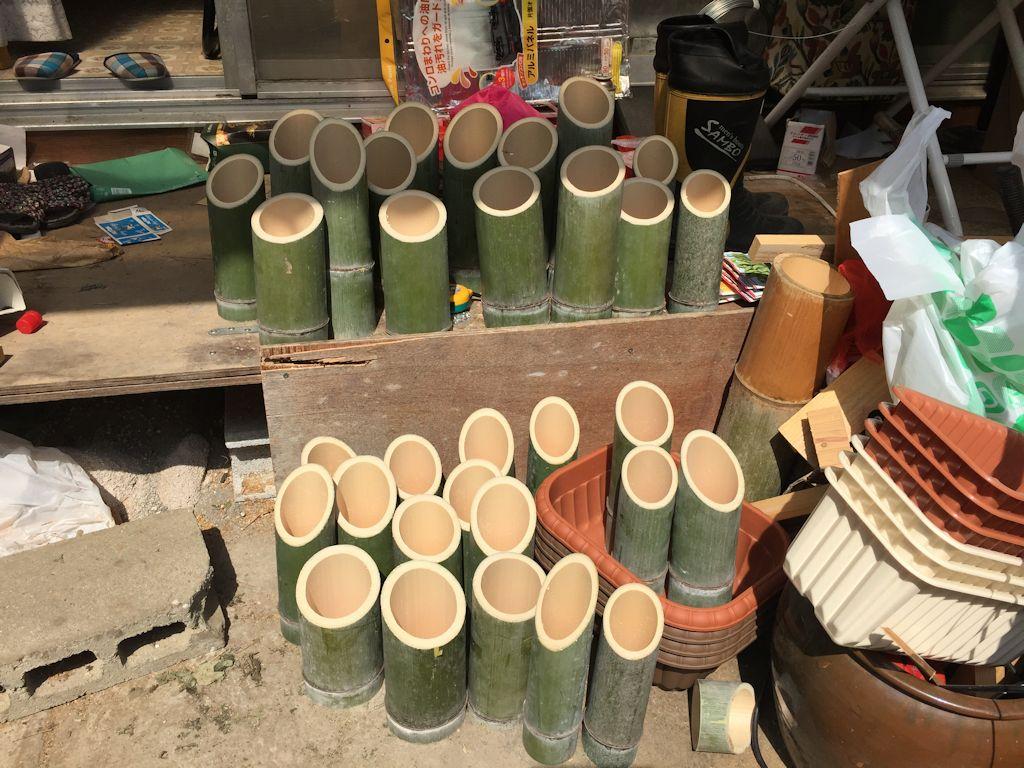 竹ランプ(竹灯かり)